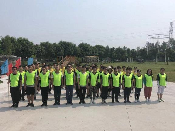 北京团队来洛参加拓展训练